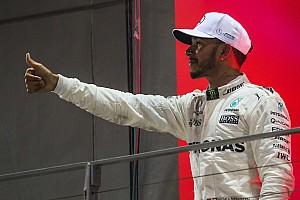 Hamilton: Schumacher'in yedi şampiyonluğunu yakalama arzum yok