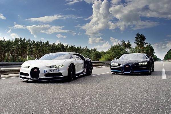 Auto Actualités Une Bugatti Chiron filmée à 400 km/h par... une Chiron!