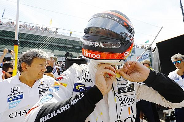 IndyCar Новость Алонсо пообещал еще раз попытаться выиграть «Инди 500»