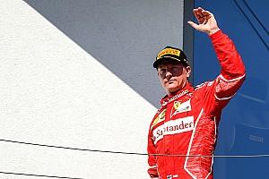 Raikkonen se queda en Ferrari para 2018