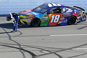 NASCAR Cup Relato da corrida Kyle Busch encerra jejum e vence em Pocono pela primeira vez