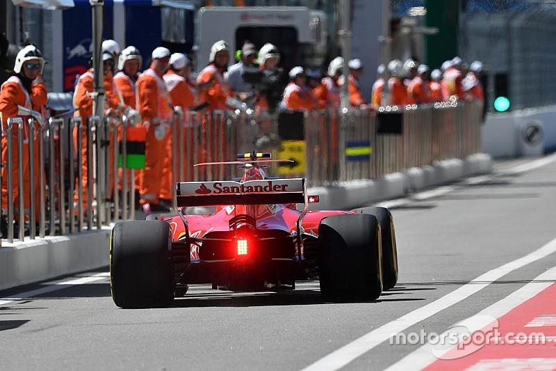 Vettel y Raikkonen vuelven a cambiar sus turbos