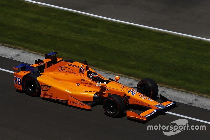 McLaren confirma teste de Alonso na Indy semana que vem
