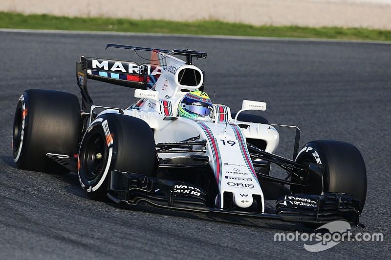 Williams и Haas испытали Т-образное крыло