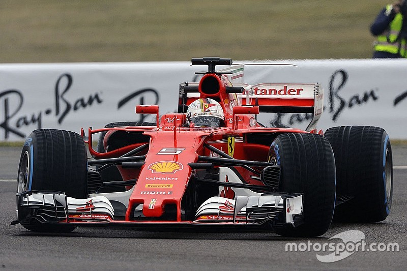 Ferrari SF70H, Vettel: