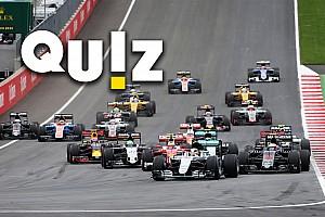 Formule 1 Contenu spécial Quiz - Êtes-vous incollable sur le GP d'Autriche?