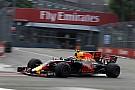 Verstappen lidera último treino livre para o GP de Cingapura