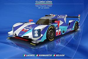 ELMS Ultime notizie Svelata la livrea 2017 del prototipo LMP2 del team Villorba Corse