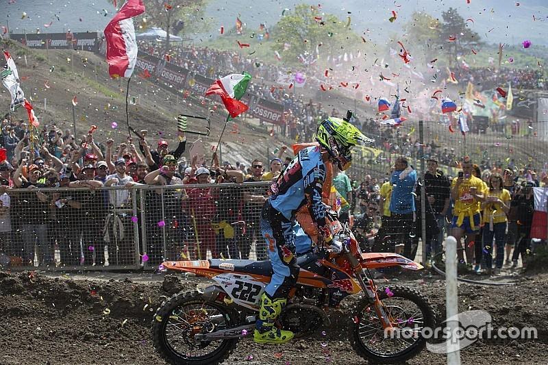Así fue el histórico GP de Trentino de MXGP