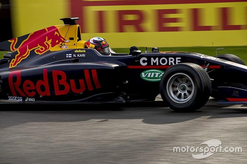 Niko Kari moet Red Bull Junior Team verlaten