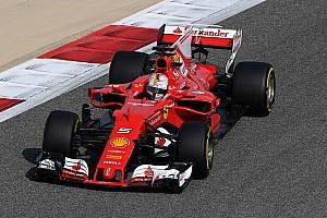 Formula 1 Practice report Bahrain GP: Vettel quickest, Raikkonen breaks down in FP1
