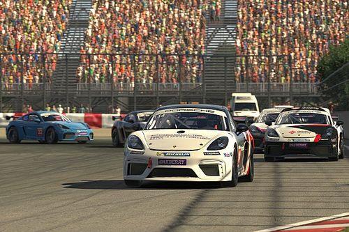 Bruno Souza e Emanuel Silva vencem no Canadá e Porsche Esports Sprint Challenge conhece sexto vencedor diferente em 6 corridas