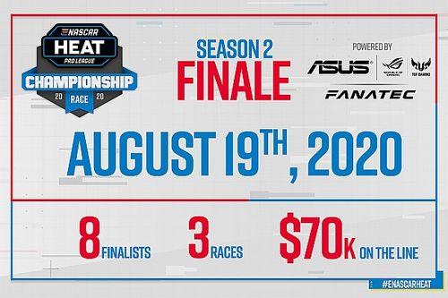 ASUS en Fanatec drijvende krachten achter eNASCAR Heat Pro League-finale