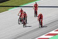 Fotos: el jueves más extraño de la historia de la F1