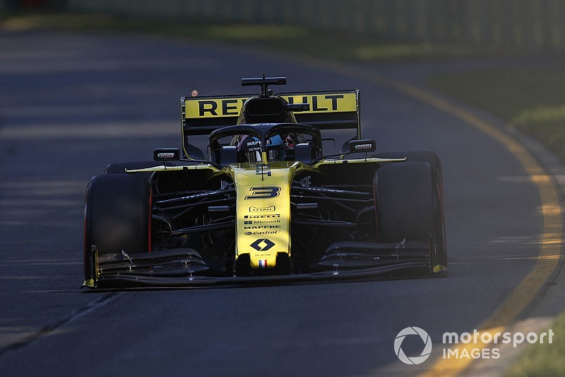 Ricciardo n'a pas tiré