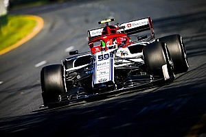 Fotogallery: l'Alfa Romeo Racing nel Gran Premio d'Australia