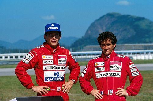 Los primeros rivales de Senna en F1, sus coequiperos