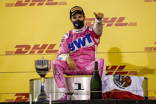 GALERÍA: Los 12 podios de Sergio Pérez en la Fórmula 1