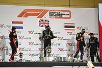Las carreras sprint de F1 serían sin podios
