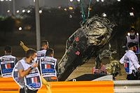 What aftermath photos reveal about Grosjean's escape