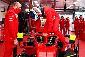 Un Alesi dans une Ferrari F1, trente ans après!