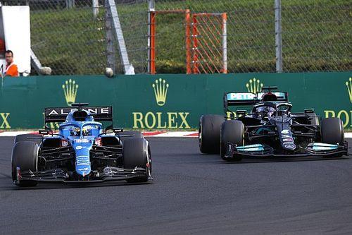 Alonso : J'ai appris à Hamilton la trajectoire idéale