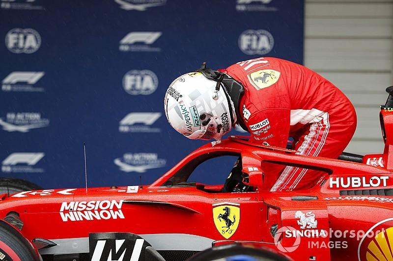 维特尔竭力为法拉利轮胎选择失误辩护