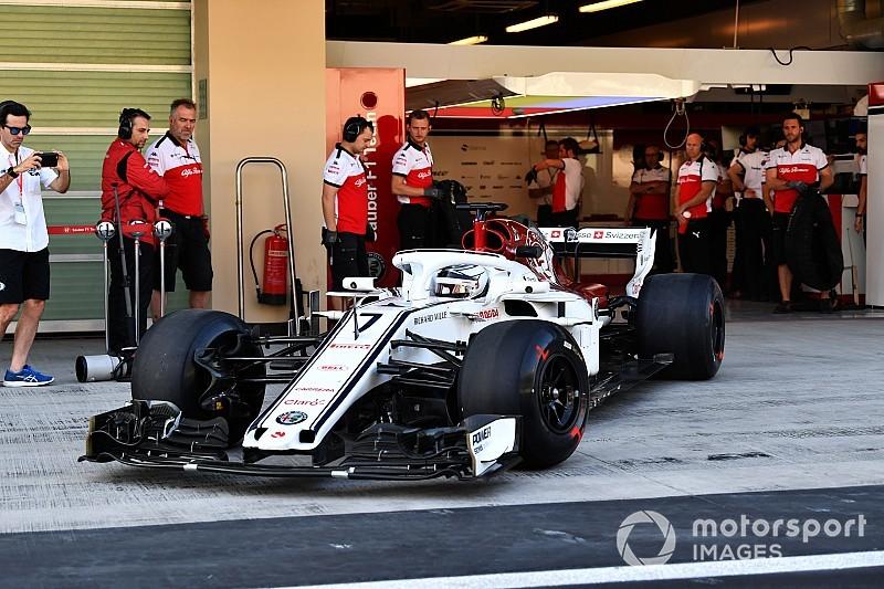 Райкконен подолав перші кола за кермом Sauber на тестах в Абу-Дабі