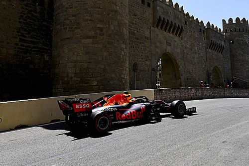 F1 Grand Prix practice results: Perez fastest in Baku