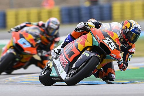 Moto2: Raul Fernandez vince una gara ad eliminazione a Le Mans