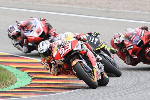 Cómo Marc Márquez fue capaz de ganar a su Honda en Sachsenring
