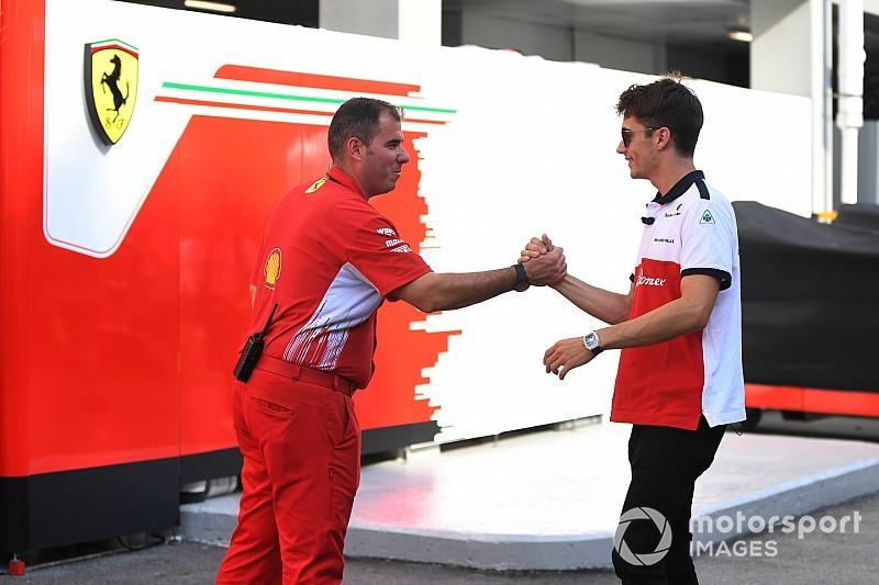 Na Ferrari, Leclerc diz que objetivo para 2019 é o título