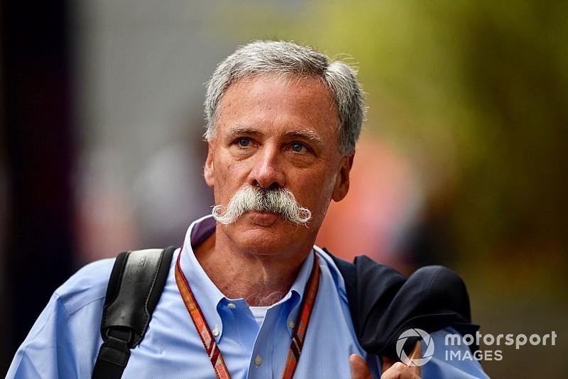 """Carey: F1 organizatörlerinin eleştirileri """"biraz garip"""""""