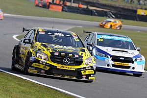 BTCC Race report Brands Hatch BTCC: Morgan holds off BMW pair to win final race
