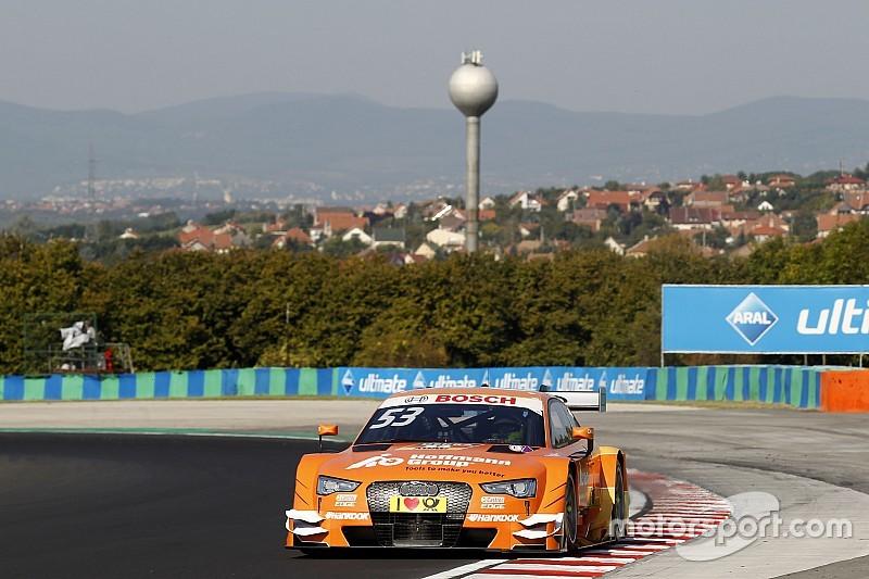 DTM in Budapest: Alle 8 Audi in den Top 8 im 2. Training