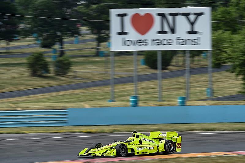 Пилотам IndyCar понравилась обновленная трасса в Уоткинс-Глене