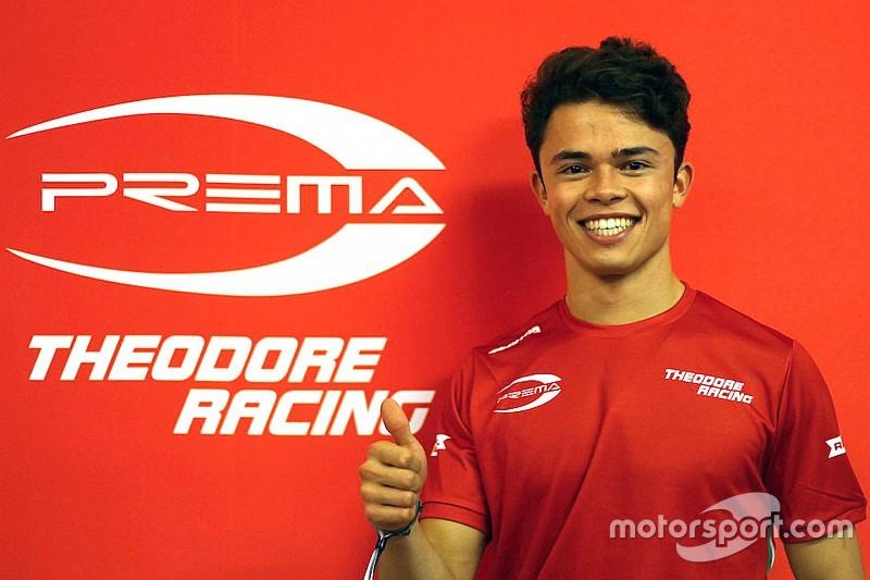 McLaren's de Vries joins 2018 Prema F2 line-up