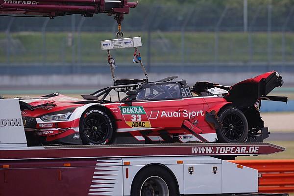 DTM Crónica de Carrera Mortara vence en una accidentada primera carrera del DTM en Lausitzring