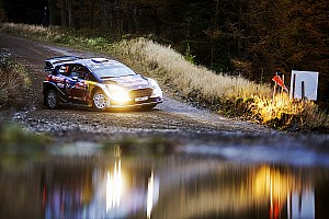 WRC Leg report Wales WRC: Ogier seals fifth title, Evans gets first win