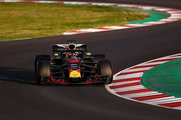 Formula 1 Breaking news Red Bull: RB14 giving nothing away in corners
