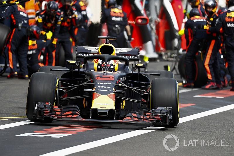Ecco cosa si è rotto sull'ala anteriore della RB14 di Ricciardo in gara al Paul Ricard!