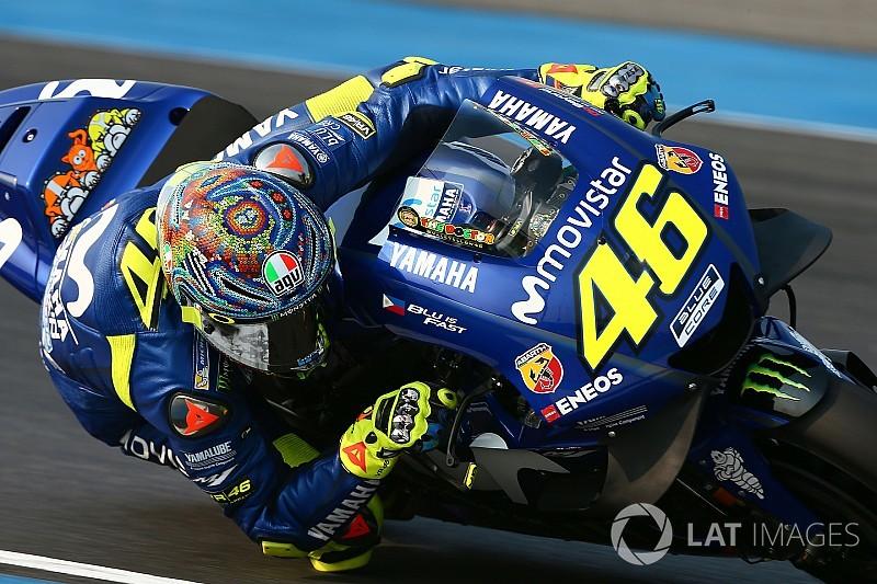 """""""Harter Tag"""": Rossi ohne Verbesserung, Vinales zuversichtlich"""