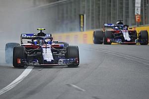 Formel 1 Reaktion Drama bei Toro Rosso: Wie Gasly einen Riesen-Crash vermied