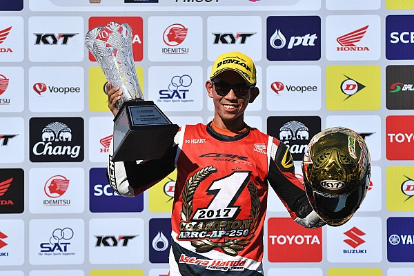 Other bike Breaking news Gerry Salim balapan Red Bull MotoGP Rookies Cup?