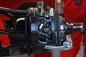 Formula 1 Analisi Ferrari: i dischi Brembo anteriori con 1.500 fori di raffeddamento!
