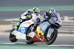 Moto2 Prove libere Termas, Libere 2: Marquez prima della pioggia, problemi per Bagnaia
