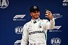Hamilton gana la pole en España y Pérez en 15°