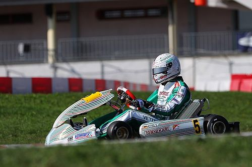 Vettel makes shifter kart debut in Tony Kart test
