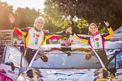 Rachele Somaschini regina CIR Femminile al Rally 1000 Miglia