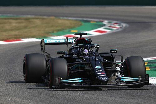 意大利大奖赛FP2:汉密尔顿最快,梅赛德斯前二
